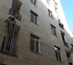محکم سازی نمای ساختمان
