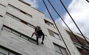قیمت راپل با راپل نمای ساختمان با طناب
